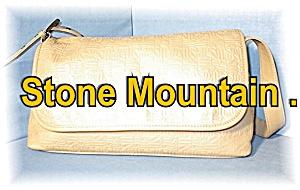 Dark  Cream STONE MOUNTAIN Leather Bag (Image1)