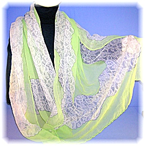 HAND ROLLED PURE 100% SILK SCARF a Top Hit FASHION (Image1)