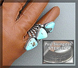 Carico Lake Turquoise Sterling Silver Paul Livingstone