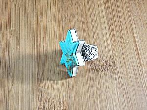 David Troutman Kingman Turquoise Sterling Silver Ring  (Image1)