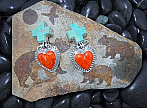 David Troutman & Gundi Apple Coral Turquoise Sterling S (Image1)
