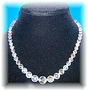 Cut Crystal Borealis Graduated Necklace (Image1)