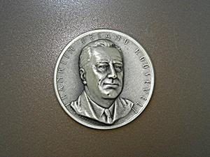Franklin D. Roosevelt .999 Silver Art Medal. (Image1)