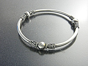 Bracelet Sterling Silver Cape Cod Bangle (Image1)