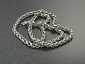 James Avery Wheat Chain Sterling Silver Necklace