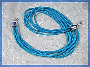 Native American 5 Strand Sleeping Beauty Turquoise Ster
