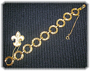 VENDOME Goldtone Original Label Bracelet (Image1)