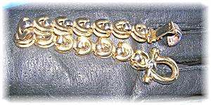 Bracelet 14K Gold  Cabochon Sapphire 22.5 grams (Image1)