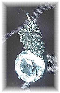 Fabulous Sterling Silver & Rock Crystal Penda (Image1)