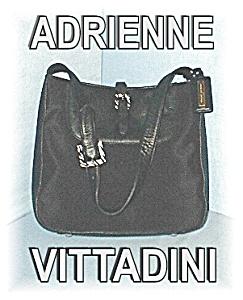 Black Leather  Microfibre Adrienne Vittadini (Image1)