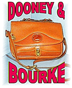 Golden Tan Dooney & Bourke Satchel Bag (Image1)