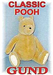 Large GUND Winnie The Poo Bear (Image1)