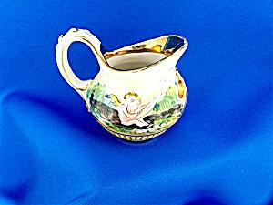 Vintage Capodimonte Cherub Creamer (Image1)