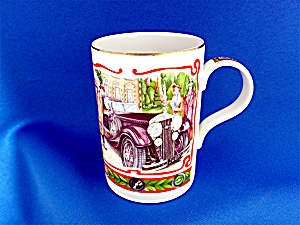 James Sadler Bone China mug vintage auto 4 in  (Image1)