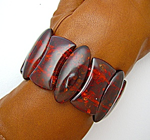 Honey Dark Amber Expanda Bracelet