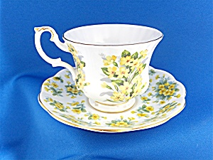 Royal Albert Cup and Saucer Nell Gwynne Series � Drury  (Image1)