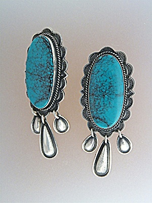 Native American Andy Cadman Turquoise Sterling Silver C (Image1)