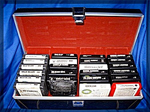 8-track tape cartridges, 23 with case, Nelson, Lichtfoo (Image1)