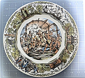 Wedgewood Williamsburg Jamestown, Virginia Plate (Image1)