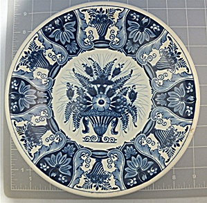 Delft Holland decorative plate Flower Basket (Image1)