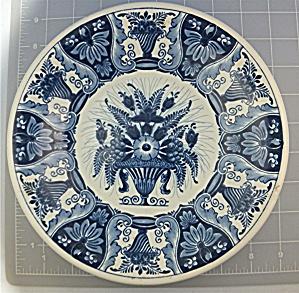 Delft Holland decorative plate Flower Basket (Image1)