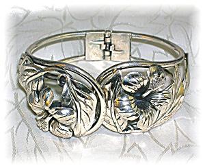 Sterling Silver DANECRAFT Pull Apart Flower Bracelet (Image1)