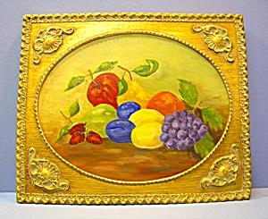 Framed Oil Painting Signed Vere Radcheki 83 (Image1)