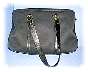 Large Micro Fiber Antonio Melani Travel Bag..