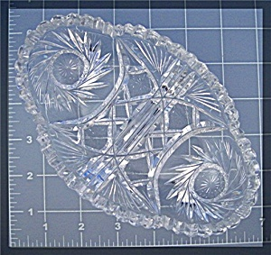 Glass Brilliant Cut Crystal dish (Image1)