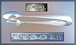 Tongs Sterling Silver Vintage Sugar ..... (Image1)
