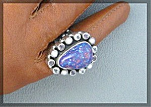 Turquoise Pearl Peridot Crystal Sterling Silver  (Image1)
