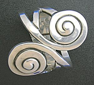 Bracelet Hilario Lopez  Eagle 3 Sterling Silver Clamper (Image1)