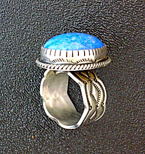 Denhim Lapis Turquoise Sterling Silver Ring