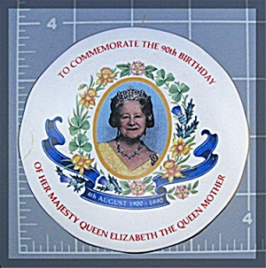 Queen Mother, Wade trinket box, 90th Birthday (Image1)