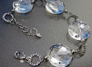 Crystal Sterling Silver Bracelet JT (Image1)