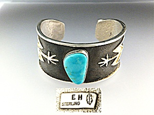 Sleeping Beauty Turquoise Sterling Silver Eh