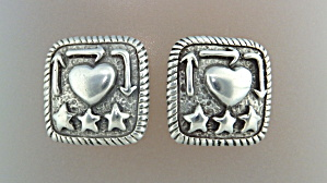 Earrings DIANE MALOUF Sterling Silver Clips (Image1)