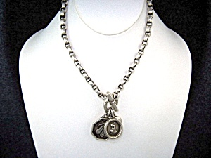 Slane & Slane Sterling Silver Bee Toggle Necklace (Image1)