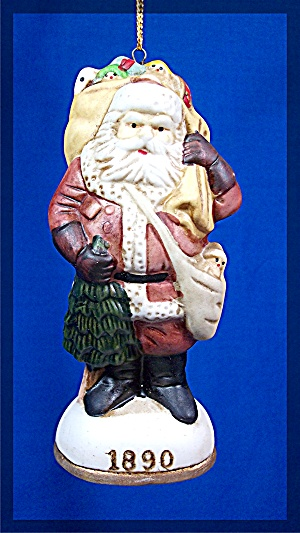 1890 Santa Claus Christmas Ornament (Image1)