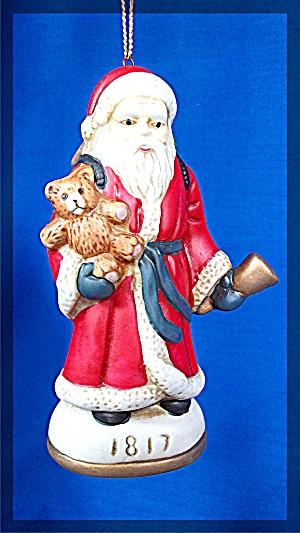 1817 Santa Clause Christmas Ornament (Image1)