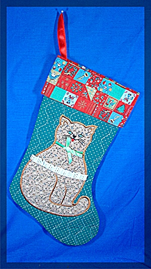 Christmas Stocking, Kitty Cat (Image1)