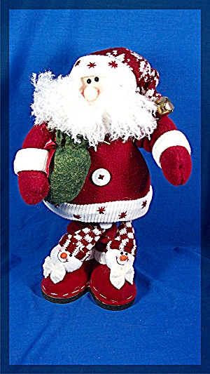 Santa Doll with present bag and fancy shoes (Image1)