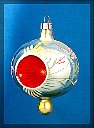 Christmas tree ornament delicate glass - Poland (Image1)