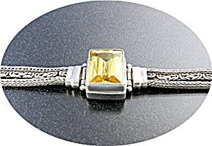 Bracelet SARDA Sterling Silver Citrine  (Image1)