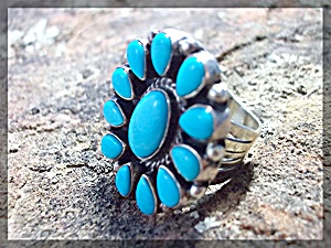 Native American Sleeping Beauty Turquoise Ella Peters