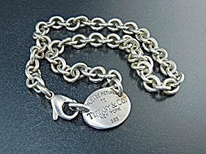 Tiffany Sterling Silver Please Return to Tiffany Neckla (Image1)