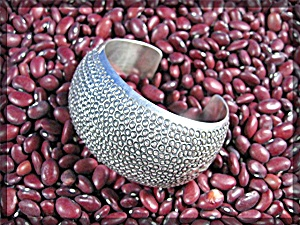 Native American Orville Tsinnie Sterling Silver Cuff