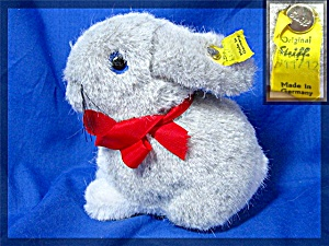 Steiff Grey White Rabbit  Snuffy (Image1)
