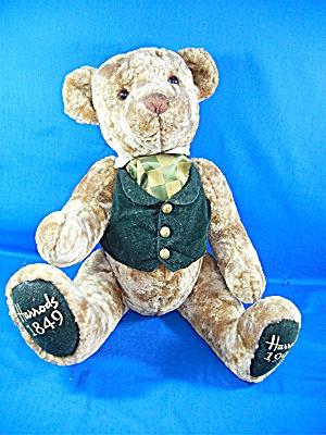 Harrods  Bear 150th Anniversary Golden Plush 19in Joint (Image1)