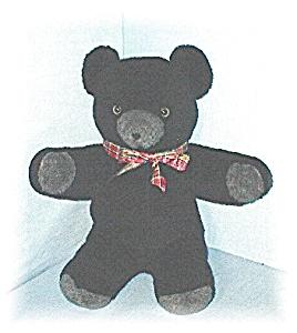 Wonderful Black Brown Eyed Bruin Bear (Image1)